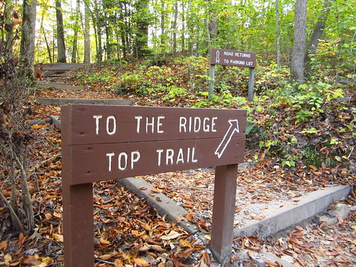 Ridge Top Trail Sign