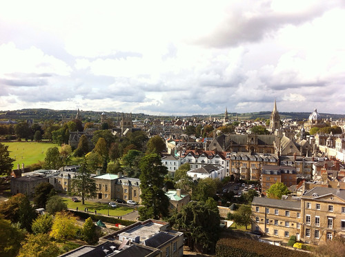 Magdalen, from the a Tower.
