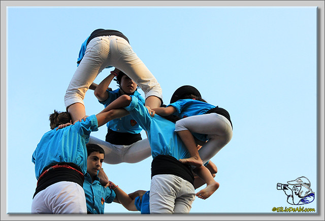 11 Castellers de Terrasa en Gallostera