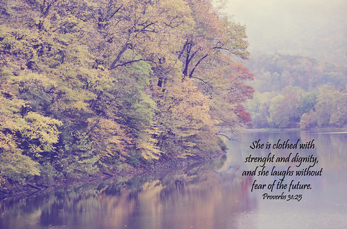 Autumn - Proverbs 31:25