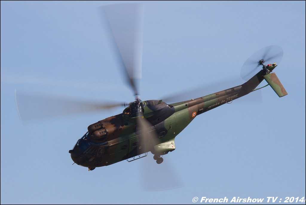 Sud-Aviation, SA330 Puma, Meeting Aerien 2014