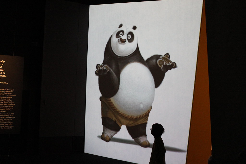Dreamworks exhibition at ACMI
