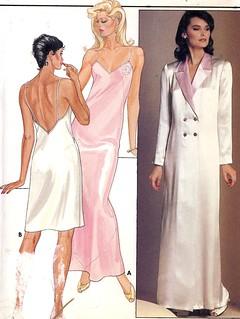Butterick 4870 lingerie