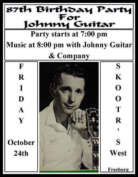 Johnny Guitar Party 10-24-14