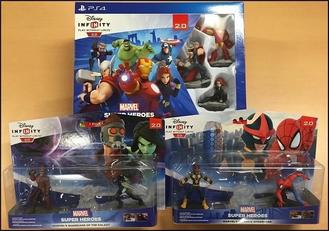 Disney Infinity 2.0 unboxing b