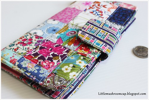 Wallet  1 - patchwork liberty - view 2