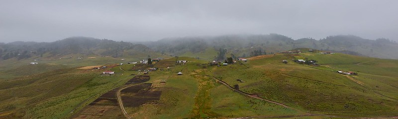 Pueblo in the Highlands - Guatemala