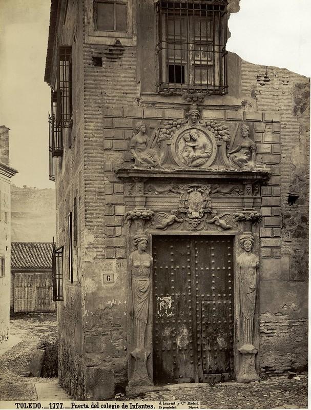 Toledo- Colegio de Infantes. Laurent. Biblioteca Nacional