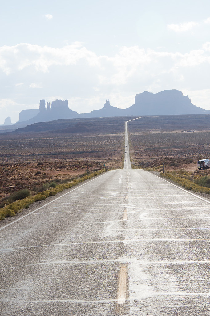 View of Monument Valley from the Highway