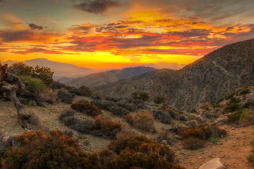 california travel autumn sunset sky mountains southwest nature clouds keys landscape view desert goldenhour sanandreas lightroom joshuatreenationalpark vividsunset