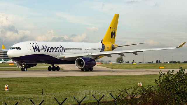 Monarch Airlines, A332, G-SMAN