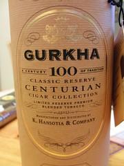 06.11.2014 Gurkha Centurian Cigar Collection