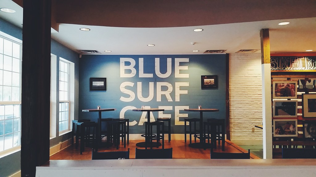 Breakfast at blue surf cafe wilmington north carolina