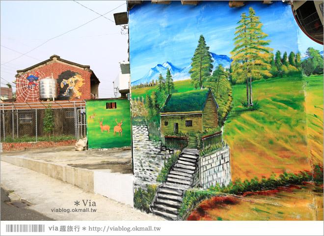 【關廟彩繪村】新光里彩繪村~在北寮老街裡散步‧遇見全台最藝術風味的彩繪村62