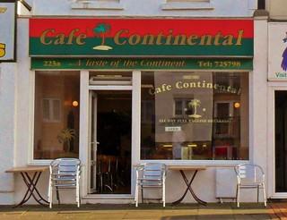 Cafe Continental, Eastbourne