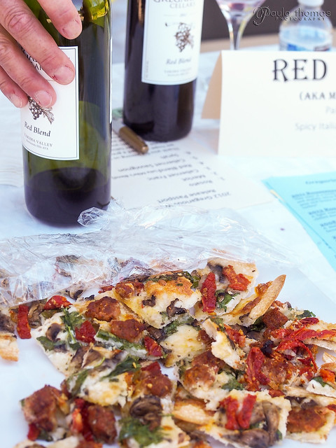 Mike's Red Blend with Spicy Italian Sausage Pizza
