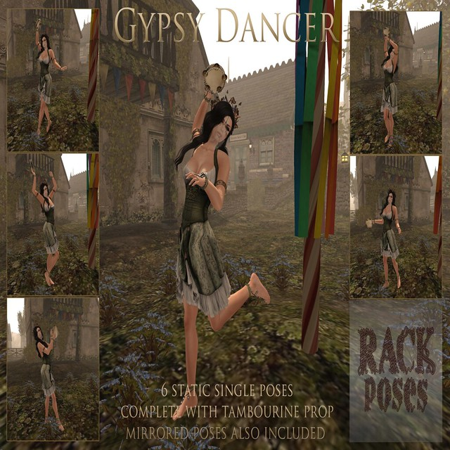 RACK Poses - Gypsy Dancer