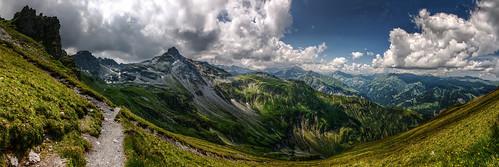 mountains alps schweiz switzerland suisse ostschweiz berge svizzera rheintal rhinevalley sargans pizol 5lakes 5seen