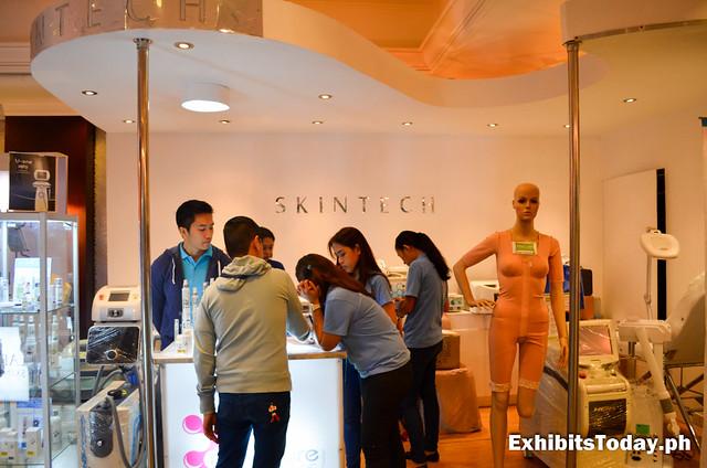 Skintech Exhibit Stand
