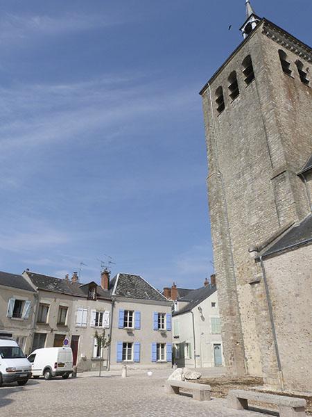 clocher église de jargeau