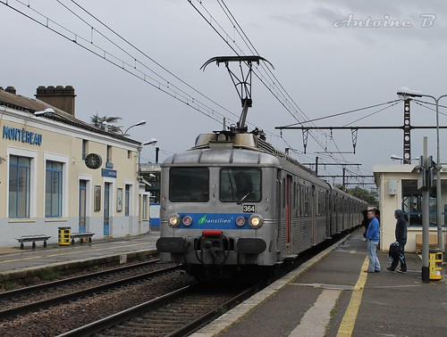 Z5364 à destination de Melun (train ZOHA)