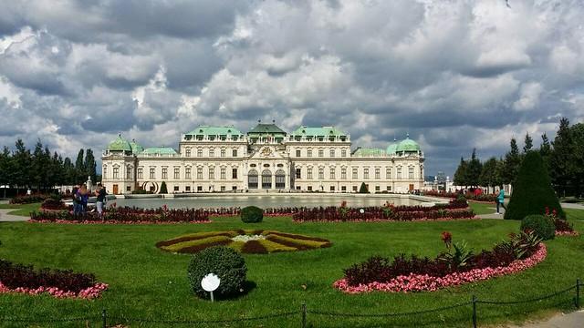 オーストリア・ベルヴェデーレ宮殿