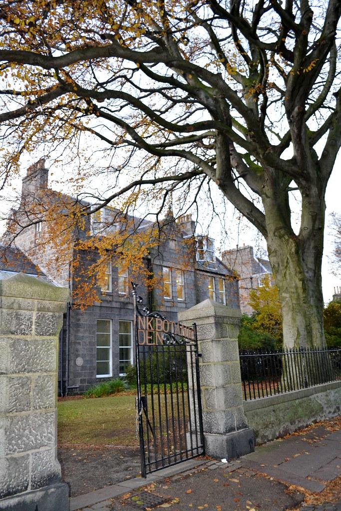Autumn in Aberdeen