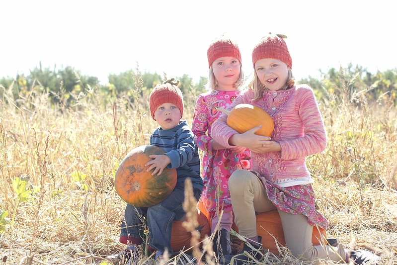 3 little pumpkins