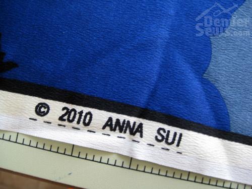 Anna Sui Silk Kimono - Selvedge