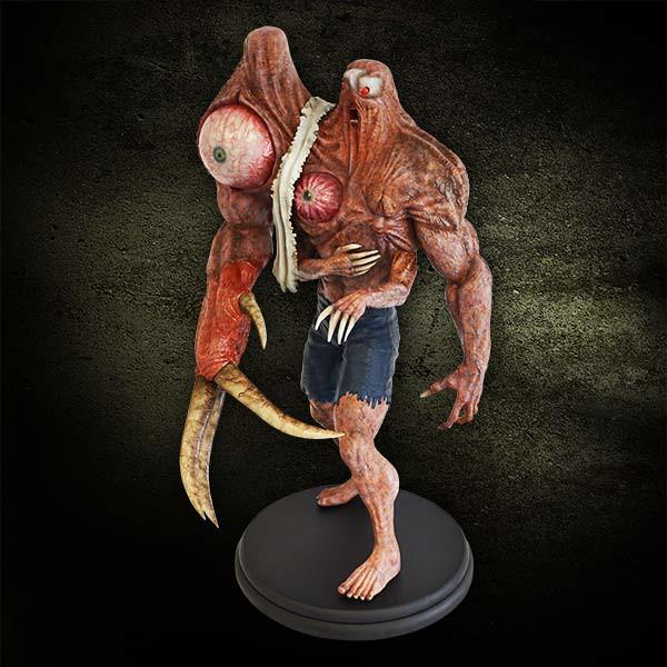 惡靈古堡威廉博士G2型態雕像推薦!