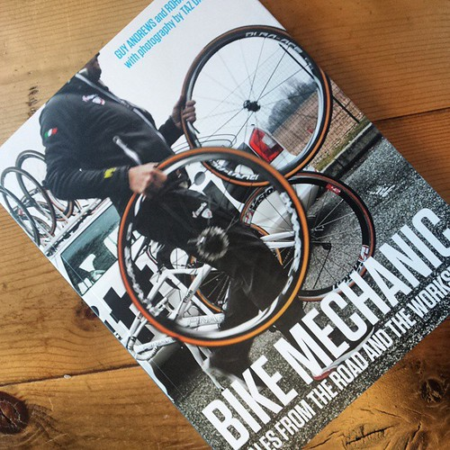 Bike Mechanic: Tales from the road and the workshop.   This book is interesting in a way I did not expect .