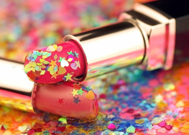 Glittery Lipsticks- Getty