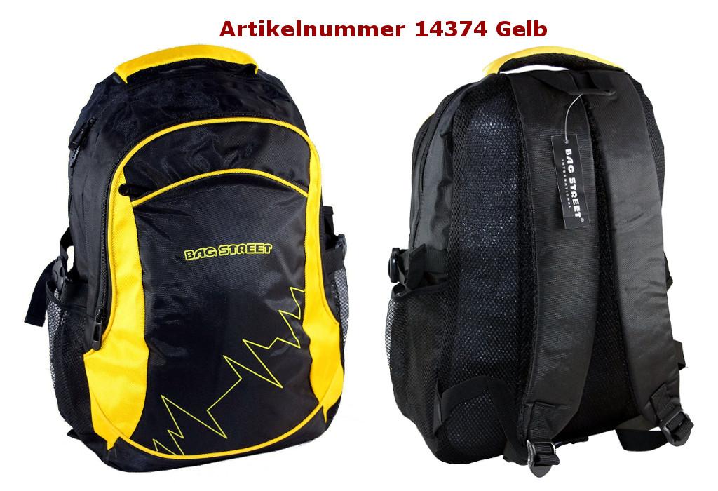 Rucksack 14374 gelb