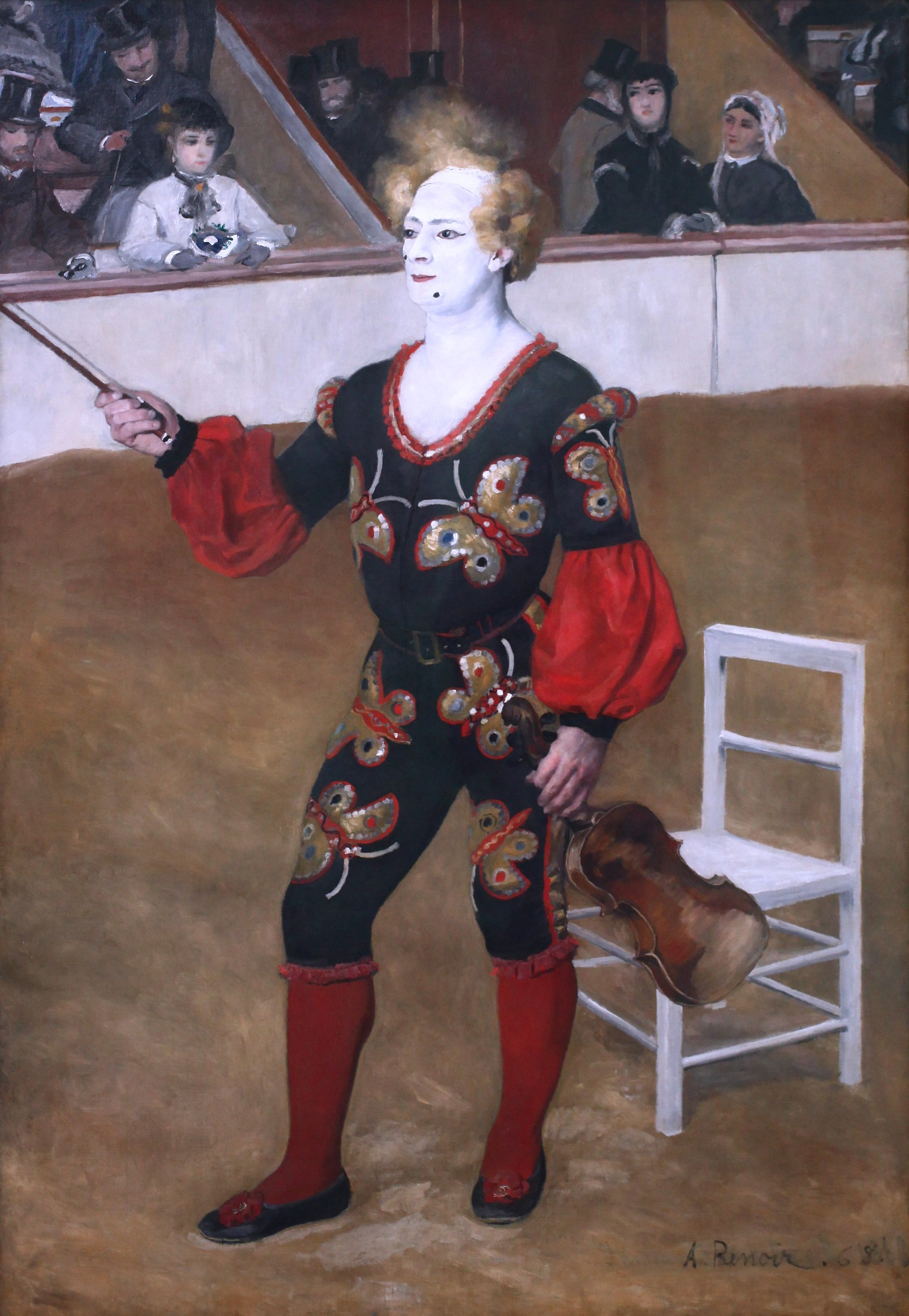Pierre-Auguste Renoir - The Clown [1868]