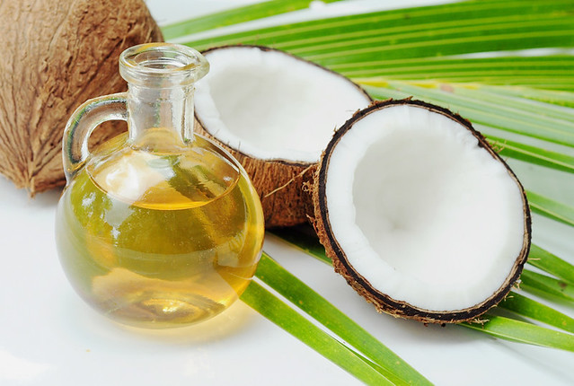Virgin coconut oil as moisturizer
