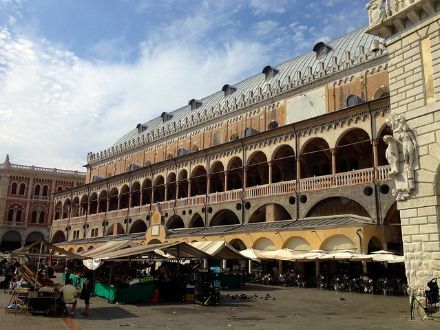 The Palace of Reason in Padua