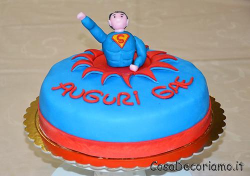 Torte - 9 - Torta Superman