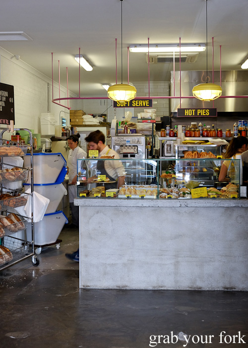 Bakery counter at Candied, Spotswood