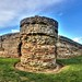 Roman fort, Burgh Castle, Norfolk by Baz Richardson (trying to catch up!)