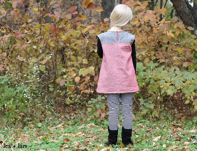 heidi & finn color block tunic