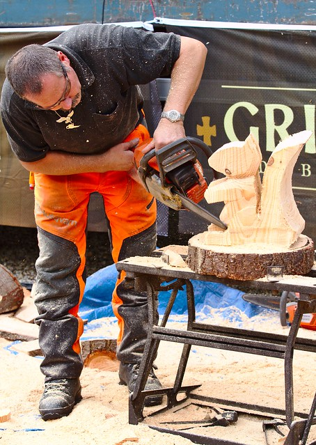 Chainsaw Woodcarving VII
