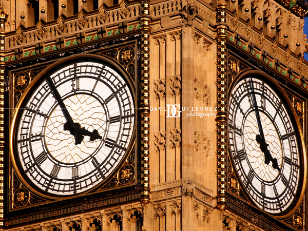 London Big Ben Face