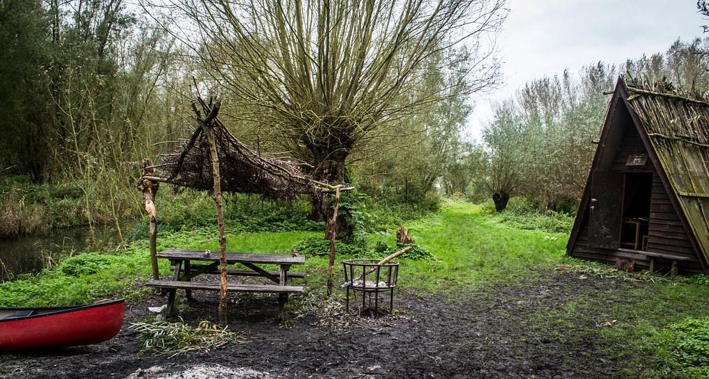 Griendwerkershut Biesbosch
