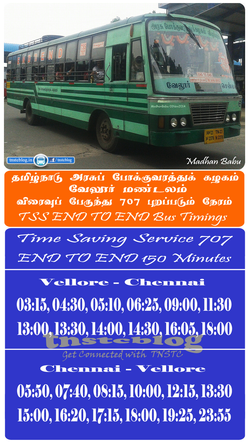 Vellore - Chennai