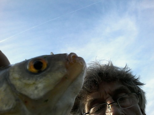 Selfie met Leen met Meneer ruisvoorn