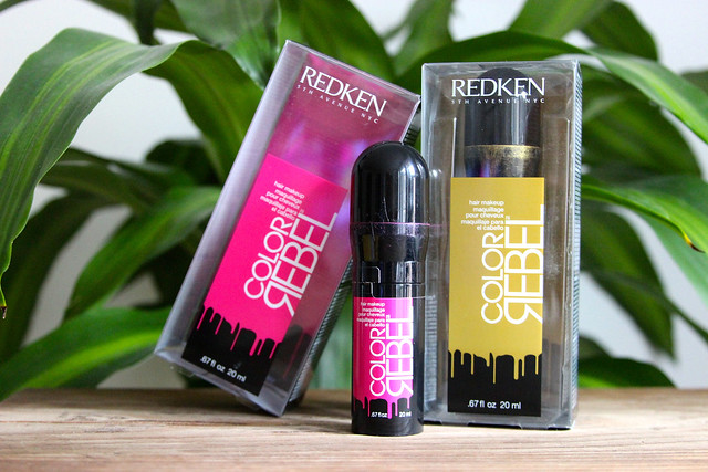redken color rebel hair makeup review, punk'd up pink, gilty as charged, style tab