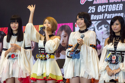 ANIME IDOL ASIA 2014 - Kamen Rider Girls meet & greet