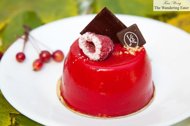 My Cardinal birthday cake from Maison Kayser