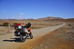 Country roads in Morocco