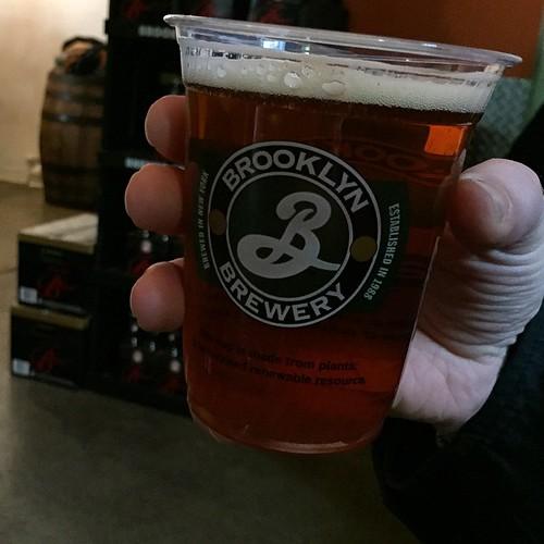 Besök på Brooklyn Brewery